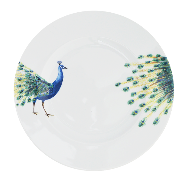 Dinner Plate Peacock  sc 1 st  Catchii & Dinnerware - Catchii dinner plates get the table talking!