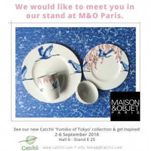 Catchii Homeware at fair Maison & Objet in Paris