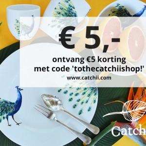 Ontvang €5 korting op je bestelling!