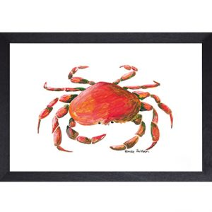 Catchii poster wit crab