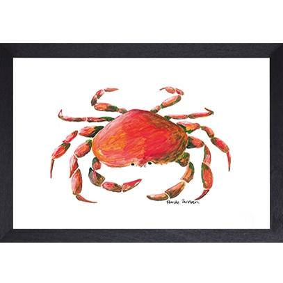 Catchii poster wit crab