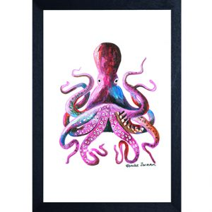 Catchii poster wit octopus
