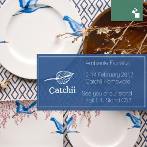 Catchii will be at Ambiente tradeshow in Germany