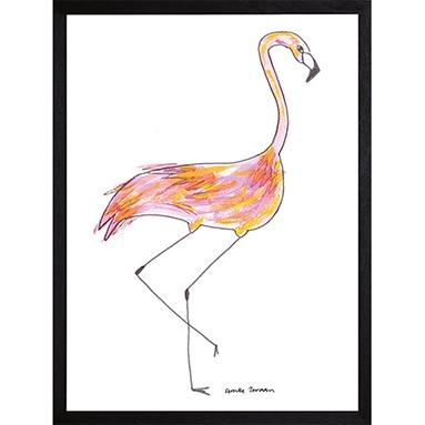 Catchii poster wit Fantastic Flamingo