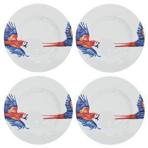 Catchii ontbijtborden met papegaai dessin