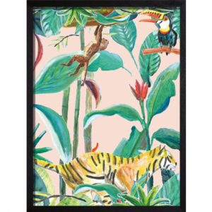 Catchii Poster roze Jungle Stories Birds