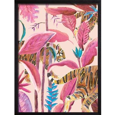 poster roze tiger
