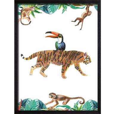 Catchii tiger poster