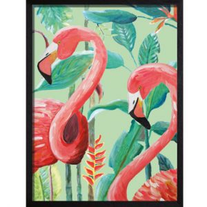 Catchii poster roze Flamingo Jungle Stories