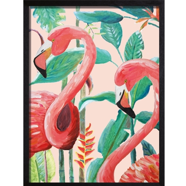 Catchii poster roze Jungle Stories Flamingo