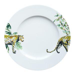 Catchii diner bord met panter en bamboe