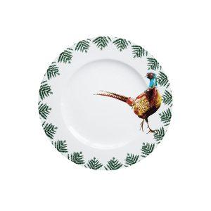 Catchii dinerbord met fazant