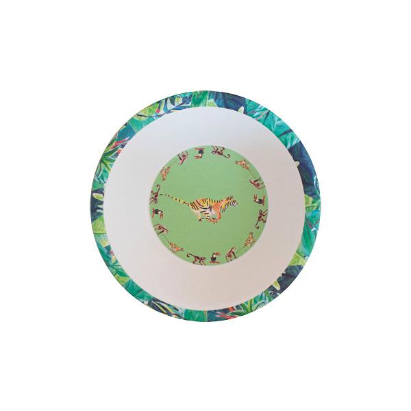 Groene tijger bowl