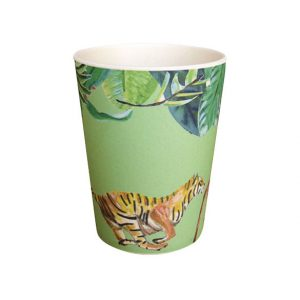 Catchii groene bamboe beker tijger Catch me mini