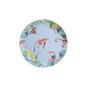 Catchii bamboe bordje aapje blauw