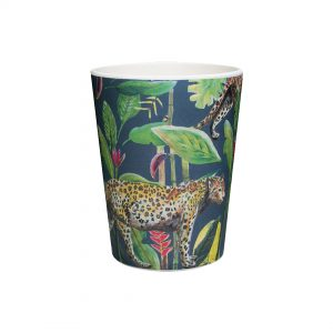 bamboe beker donkerblauw wild jungle stories catchii
