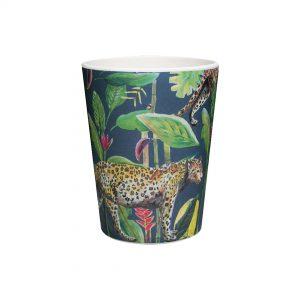 bamboe beker donkerblauw wild jungle stories catchii