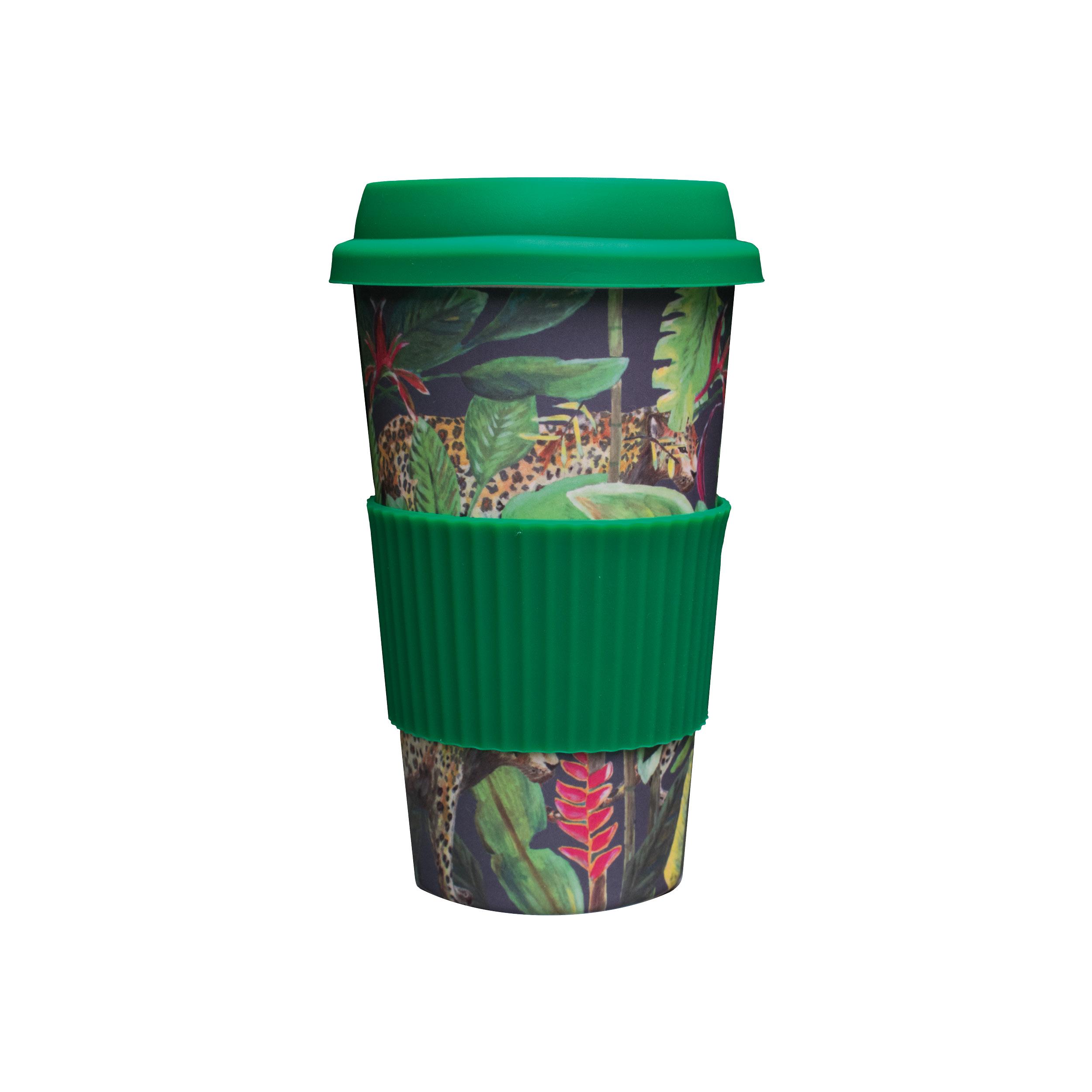 bamboe koffie to go beker panter travelcup travelmug