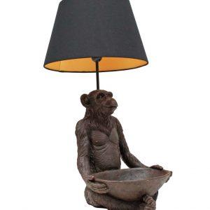Nu verkrijgbaar! Deze te leuke aap lamp!