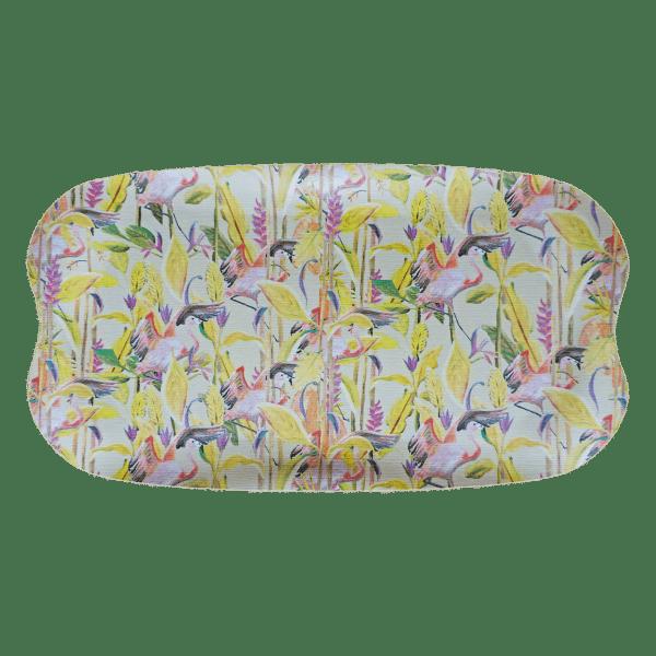 bamboe dienblad flamingo jungle