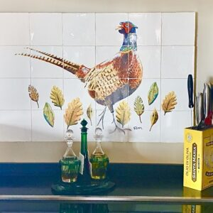 tile panel pheasant catchii