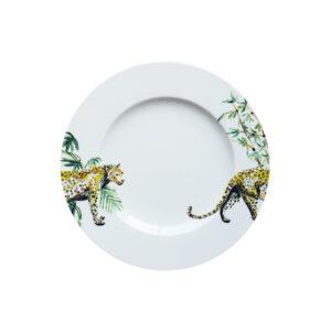 Catchii ontbijtbord met panter en bamboo dessin