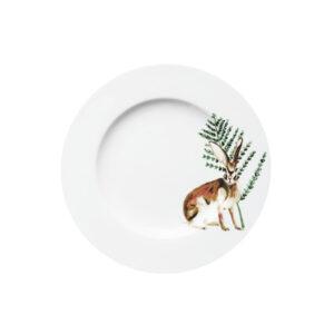 Catchii ontbijtbord haas met blaadje festive seasons