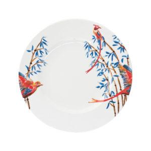 Catchii dinerbord met vogels en bamboe