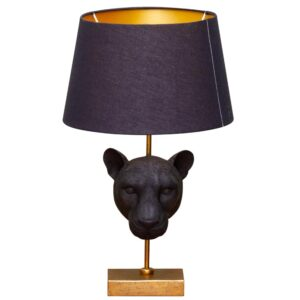 Catchii lamp zwart panther
