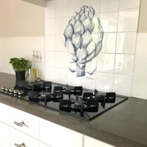 tile panel artichoke Catchii